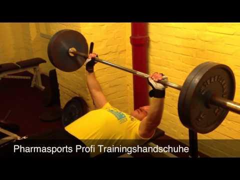 Profi Trainingshandschuhe Fitnesshandschuhe Von Pharmasports