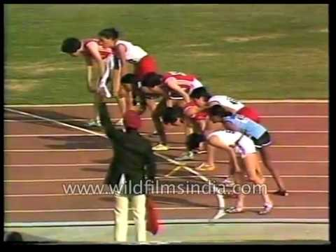 1982 Asian Games:  Athletics archival footage