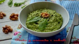 Pesto z avocado i rukoli - TalerzPokus.tv