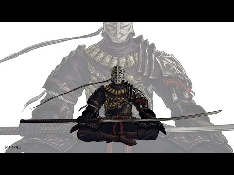 Dark Souls 2 - Sir Alonne Boss Fight Walkthrough (Melee)