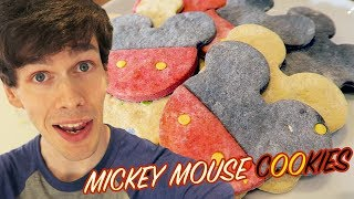 Mickey Mouse Cookies - Disney Baking  Tom Burns