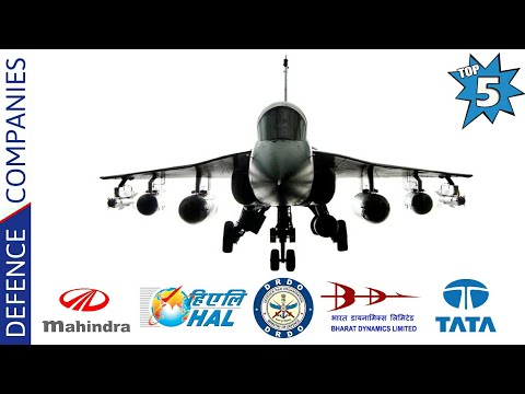 Top 5 Largest Defence Manufacturing Companies In India - Top 5 Indian Defence Companies (Hindi)
