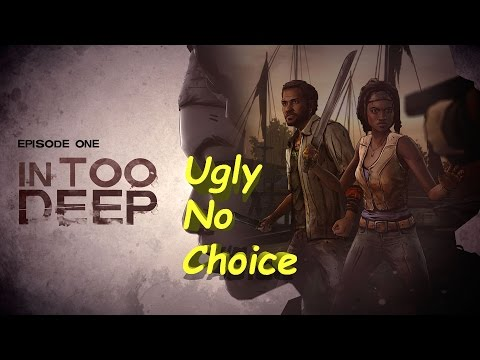 The Walking Dead: Michonne Ep. 1 In Too Deep - Ugly No Choices Complete Walkthrough