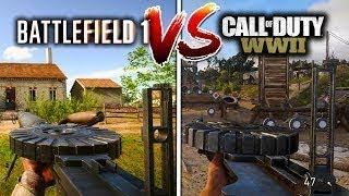 COD WW2 Graphic Comparisons, My Point of views on graphics between, Battlefield 1 and COD ww2.