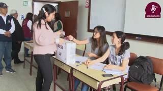 Tema: Elecciones de representantes estudiantiles