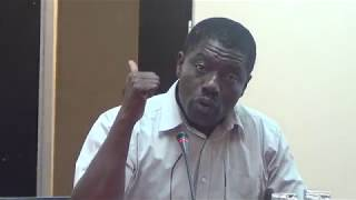 Chairperson of the African Diaspora Forum, Marc Gbaffou, on amnesty of all illegal immigrants