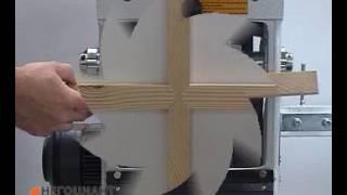 видео Оборудование для багетных опилок