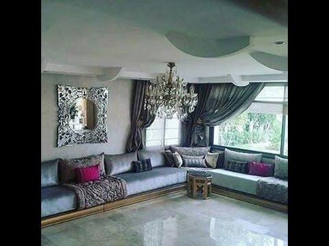 decoration salon marocain  YouTube
