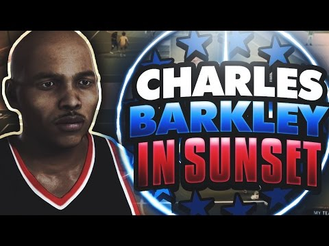 CHARLES BARKLEY AT SUNSET BEACH!!! POST FADES, HOOKS, CONTACT DUNKS!!