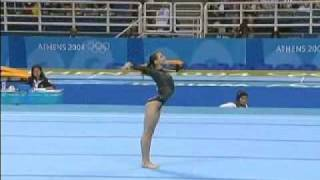 Olympic Champions - Athens 2004 Floor - Catalina Ponor