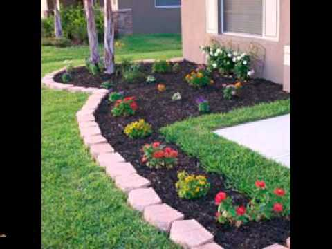 Easy diy landscaping projects ideas youtube for Simple garden landscape ideas