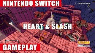 Heart & Slash Nintendo Switch Gameplay