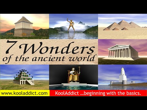 Seven Wonders of the Ancient World (World History)