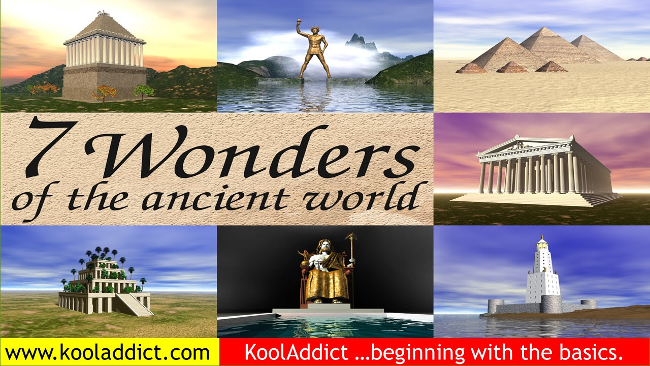 seven wonders of the ancient world world history