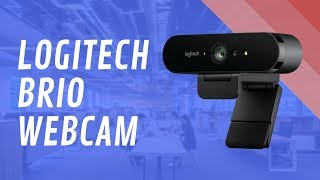Logitech BRIO 4K UltraHD Webcam - Quick Look India