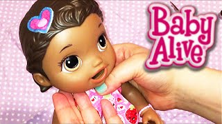 How to Change and Make Baby Alive Super Snackin' Lily Doll New Hair Barrettes!