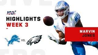 Marvin Jones Lights Up Philly for 101 Yds & 1 TD | NFL 2019 Highlights