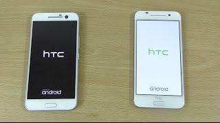 Speed test between New HTC 10 and iPhone Clone HTC One A9! The A9 h...