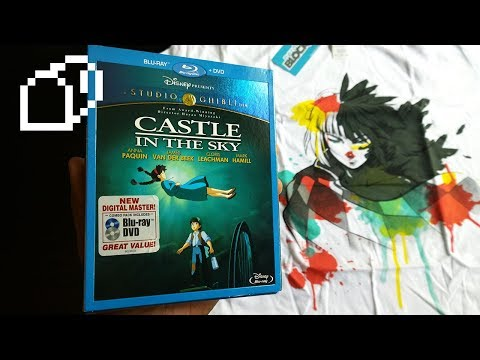 Castle In The Sky (1986) + ShirtPunch Howl Watercolor