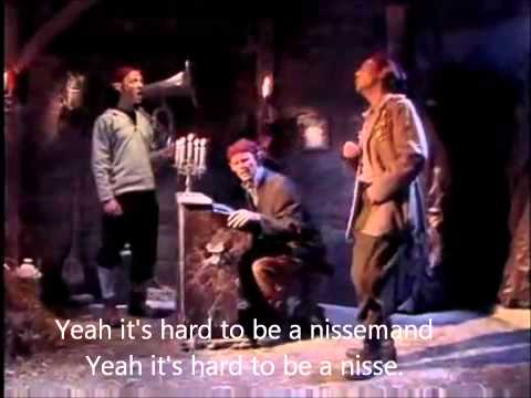 The Julekalender - It's Hard to be a nissemand Lyrics - HD