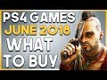 PS4 Games in JUNE 2018 - What to BUY! (NEW PlayStation 4 Games 2018)