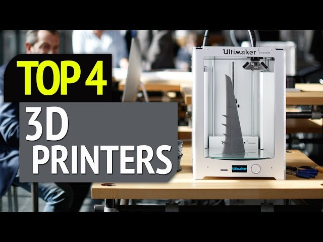 TOP 4: Best 3D Printers 2019
