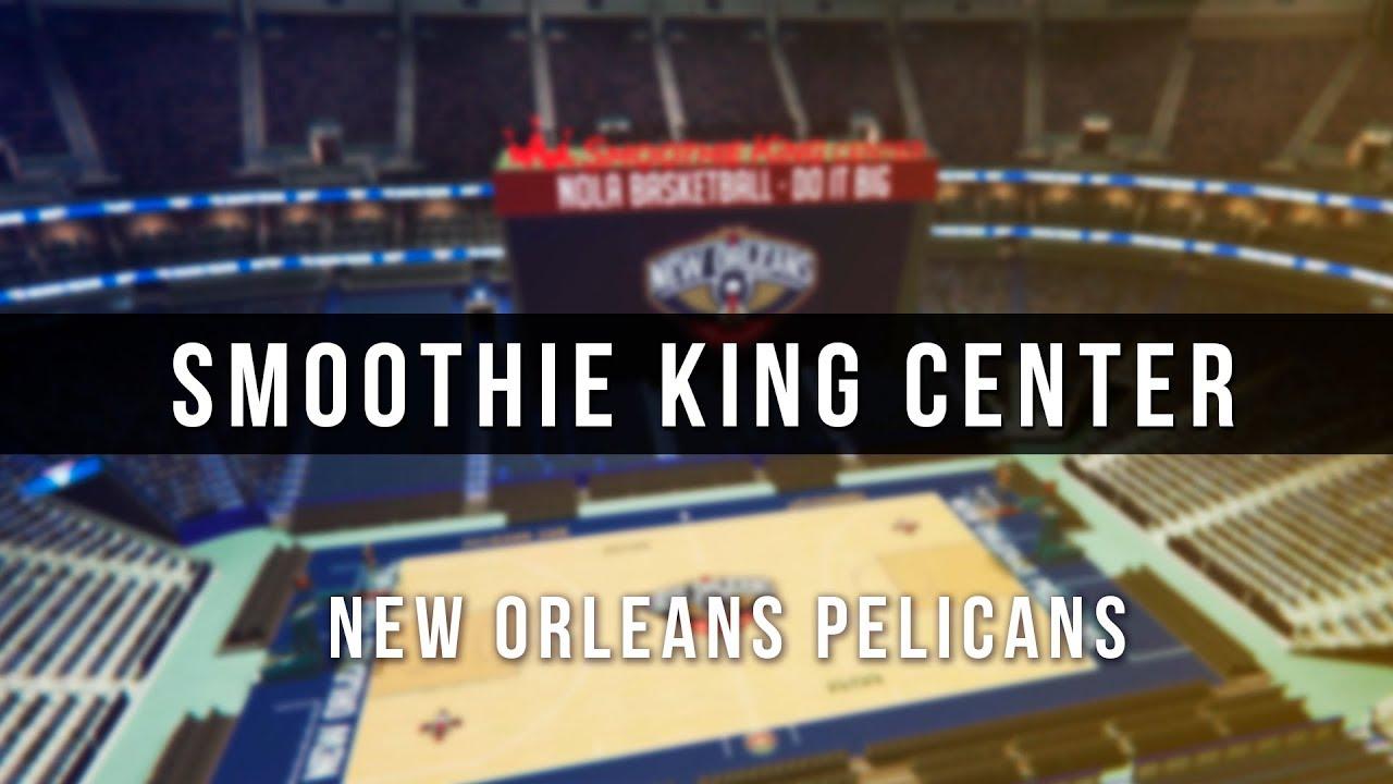 3d Digital Venue Smoothie King Center Nba New Orleans Pelicans