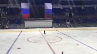 11 09 2016 контрольные прокаты сборной России по фигурному катанию 3