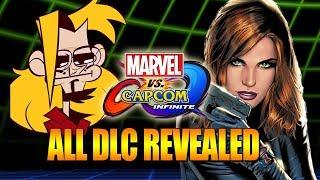 ALL DLC REVEALED - The Final Character Is...?! Marvel vs Capcom Infinite Update