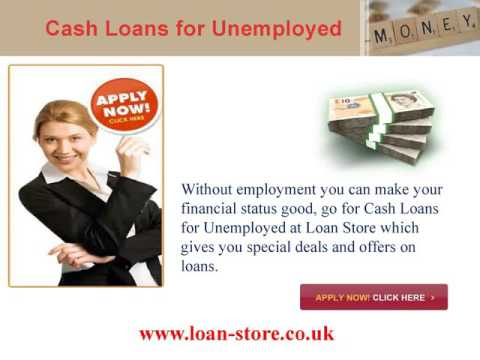 Unemployed Loans Provide Ideal Financial Back for Bad Credit People