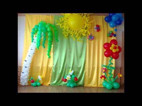 композиции из шаров на день рождения Алматы