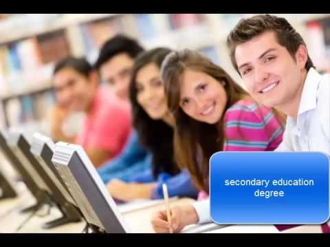 secondary education degree