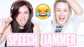 speech jammer challenge with ebony day   sophie louise