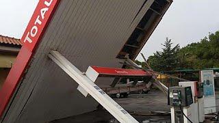 Maltempo in Toscana, i danni da Carrara a Grosseto
