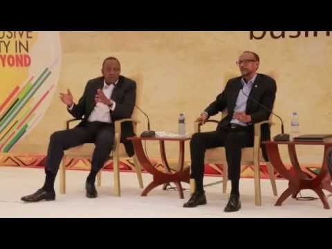 The East African Business Summit   Kigali 16 October 20141