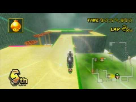 Mario Kart Wii - Mushroom Peaks (Custom Track) by MrBean35000vr and Chadderz ;)