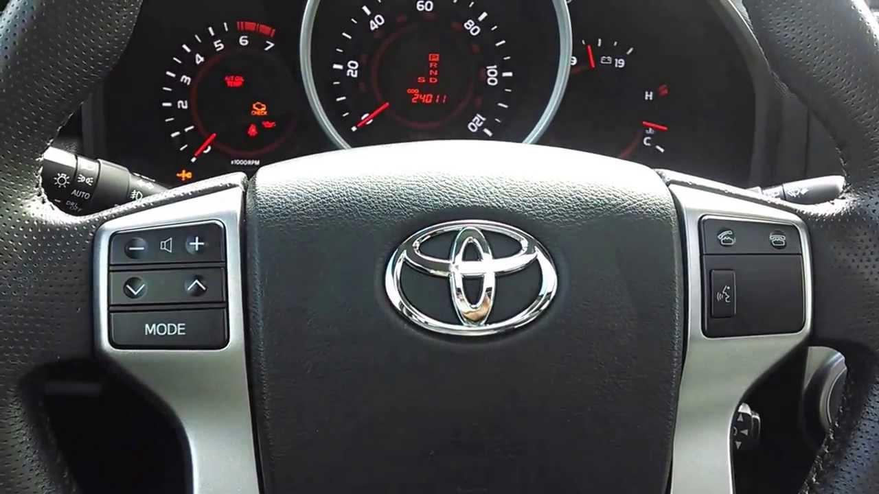 Toyota Manual Tilt  Telescope Steering Wheel Demo  YouTube
