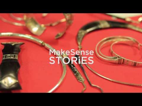 MakeSense Short STORiES : Ibrahim, marchand de bijoux et entrepreneur solidaire