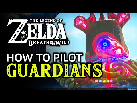How To Pilot A Guardian In Zelda: Breath Of The Wild (April Fools!)