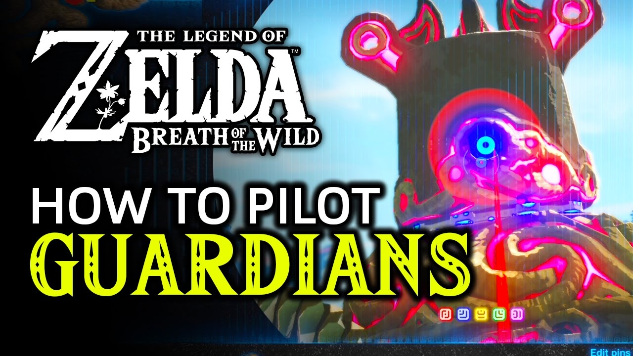 How To Pilot A Guardian In Zelda Breath Of The Wild