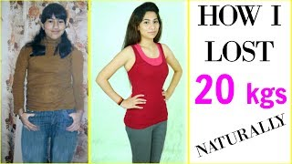 How I Lost 20 Kgs Naturally - 100% Effective Weight Loss Drink | Anaysa