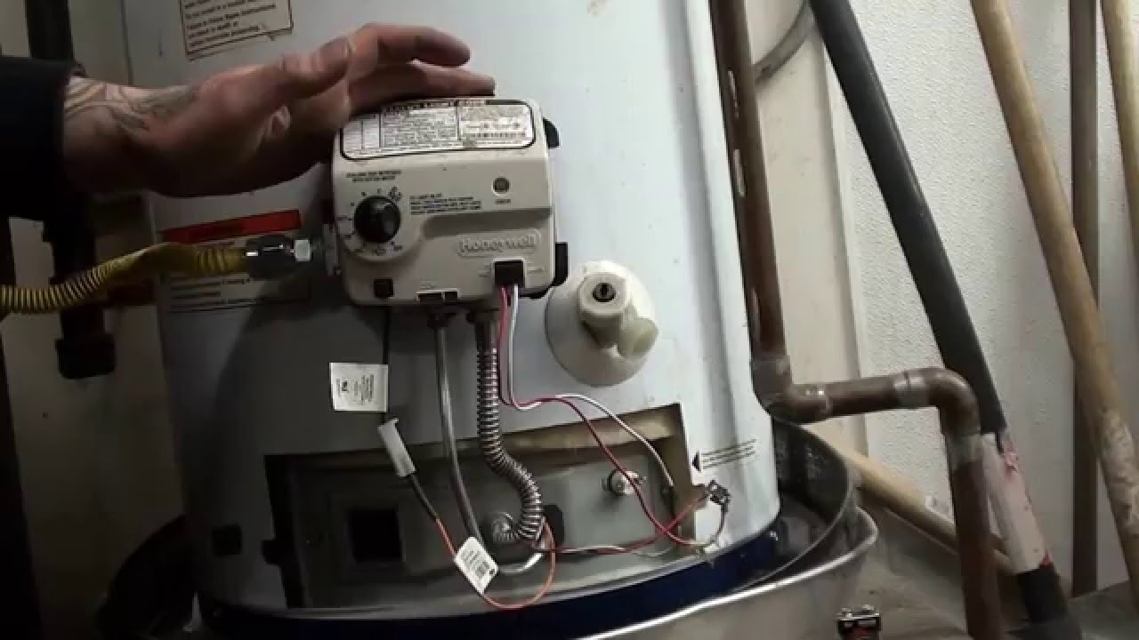 Ao Smith Wiring Diagram Water Heater Standard Telecaster Pickup How To Diy Fix A Honeywell Temprature Control Valve With Code 4 Flashes - Youtube