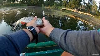 Рыбалка на реке Рось / Fishing on the river Ros