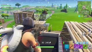 FORTNITE BATTLE ROYALE || DUOS WITH TITAN || GETTING A DUB || DOUBLE ROCKET LAUNCHER DESTRUCTION