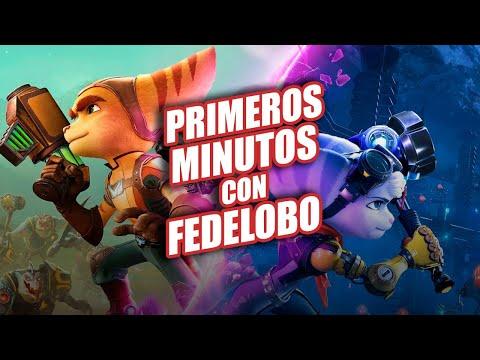 Ratchet & Clank: Rift Apart PS5 : Primeros Minutos con Fedelobo