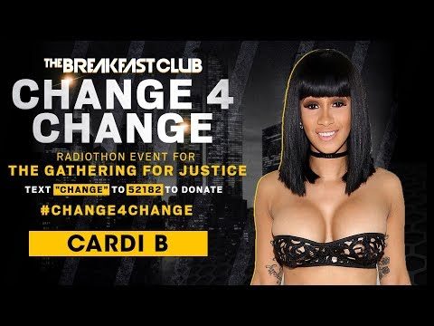 Cardi B Pays It Forward With #Change4Change After Amazing Year