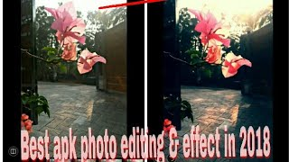 Best app for photo editor & effect for Android ▶ 2018