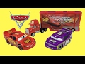 Disney Cars 3 Toys Transforming Mack Truck Playset Lightning Mcqueen Race Track