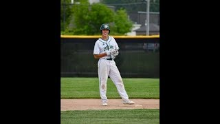 Jaden Elenbaas senior baseball highlights Zeeland West MI Class of 2018
