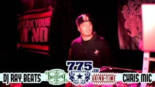 775Battles.com / A&B - CHRIS MIC vs DJ RAY BEATS - 9/18/2011